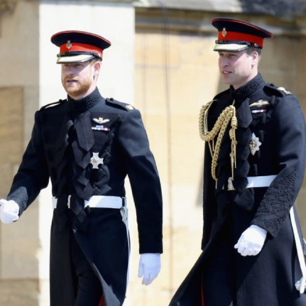Prince Harry and Prince William to walk behind Philip's coffin