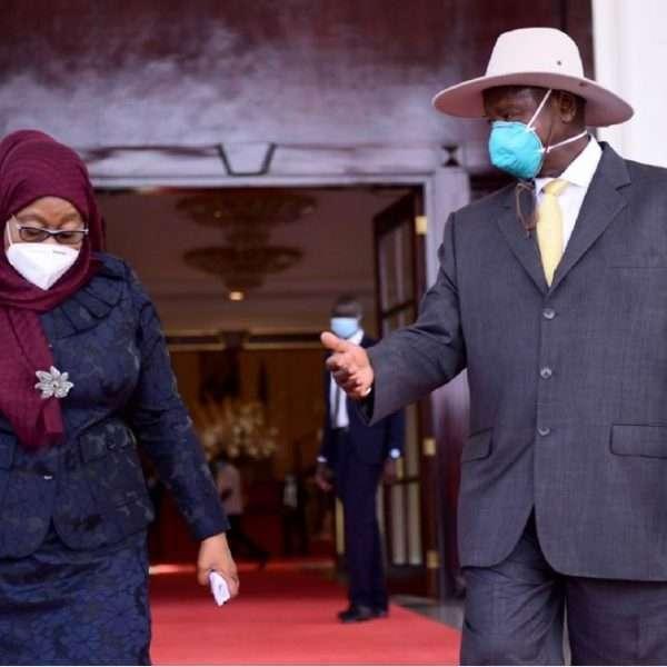 President of Tanzania Samia Suluhu makes her first state visit to Uganda