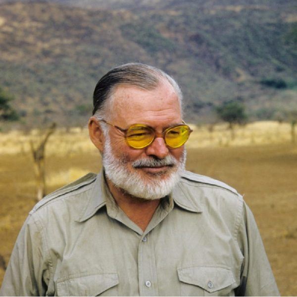 Ernest Hemingway, legendary American writer, used to drink only during working hours