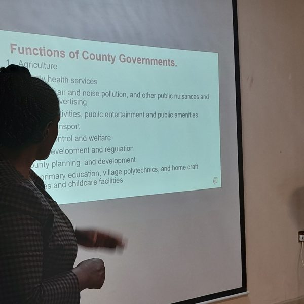 Budget 2021/2022 Proposals by ethnic minorities in Kenya