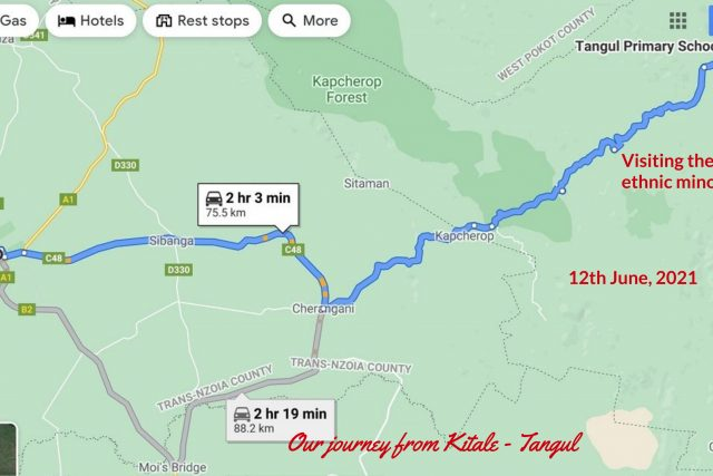 Our journey to Tangul