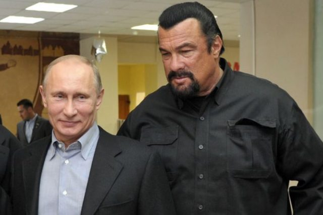 Stephen Seagul joined a Russian political party supporting Putin
