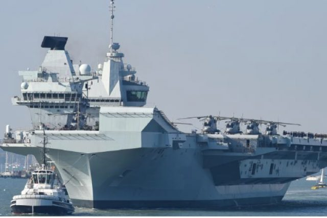 Britain says it will permanently deploy two warships in Asian waters