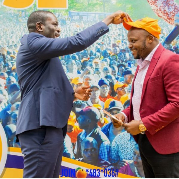 Comedian and radio presenter Felix Odhiambo Odiwuor aka Jalang'o has joined ODM party as a live member