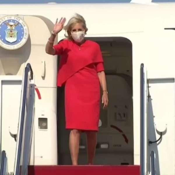 U.S. first lady, Jill Biden lands in Japan for Tokyo Olympics