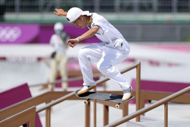 Skateboarding is at the Olympics for the first time