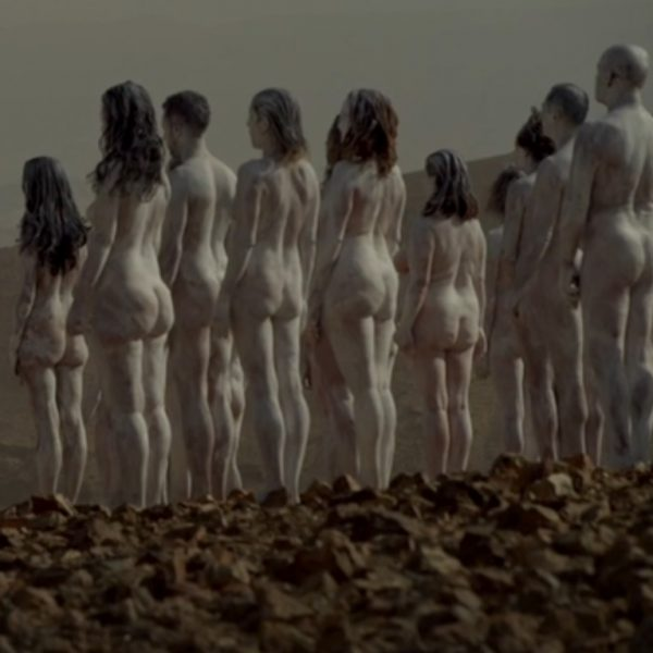 Naked photo shoot to raise awareness on the Dead Sea