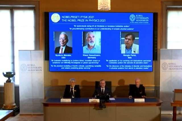 2021 Nobel Prize for Physics
